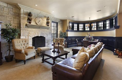 How To Decorate Living Room With Fireplace How To Decorate A Large Living Room With Fireplace