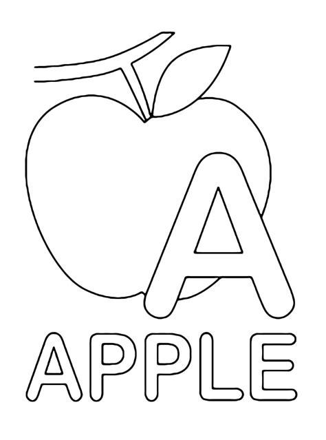 lettere inglese lettere e numeri lettera a instatello di apple mela