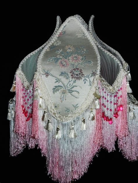 victorian l shade with fringe 17 best images about beaded fringe ls on pinterest