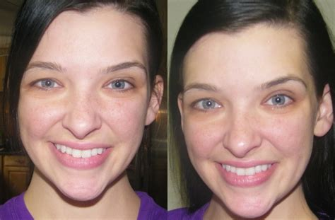 makeup tricks to hide fine lines in forhead review before after zeno s quot line rewind quot for wrinkles