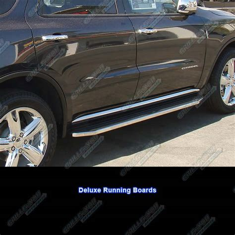 2015 Dodge Durango Side Steps by 11 15 Dodge Durango 76 Quot Deluxe Side Steps Nerf Bars