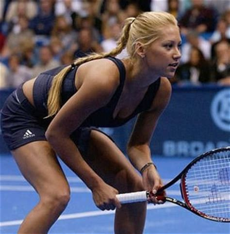 Kournikova Does The Thing by 25 Sports Who Clean Up Well Crush