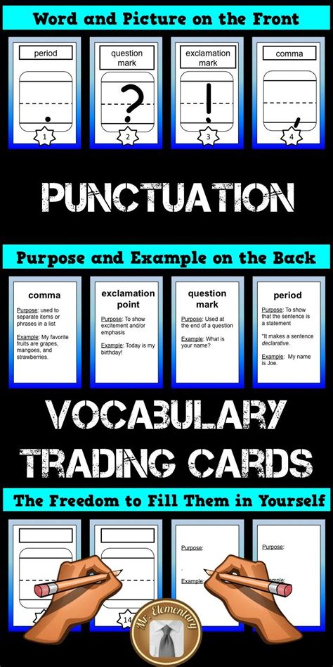 Vocabulary Trading Card Template by 44 Best Images About Writing Ideas On Writing