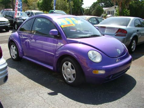 purple convertible purple beetle convertible