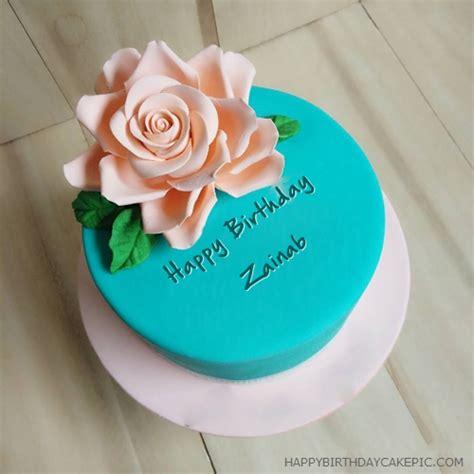 beautiful  birthday cake  zainab