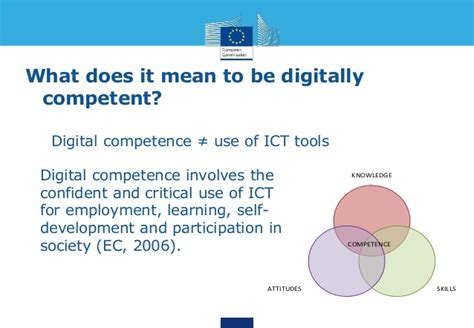 what does it to be a teachers digital competence and participation in