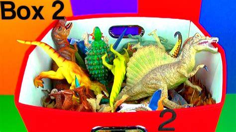 dinosaur box dinosaur box 2 collection jurassic world t rex