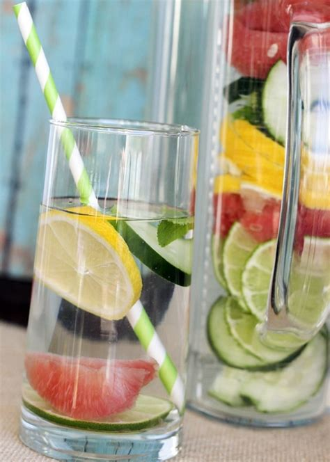 Best Detox Routine by Top 10 Detox Water For Your Morning Routine