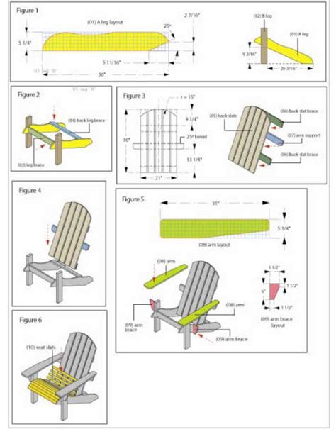 Adirondack Chair Plans by Woodworking For Mere Mortals Free Access Adirondack