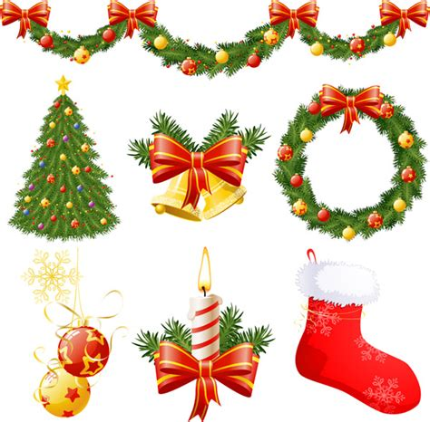 christmas decoration images christmas decorations vector free vector 4vector