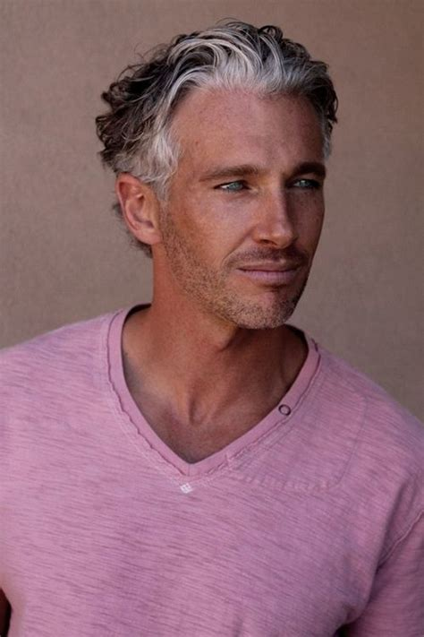 do men like grey hair mens grey hairstyles immodell net