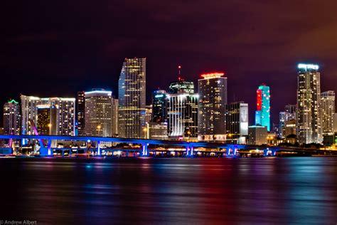 Miami City Skyline At Night | miami skyline at night 2013 www pixshark com images