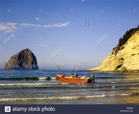 dory boat cape kiwanda dory fishing boat stock photos dory fishing boat stock