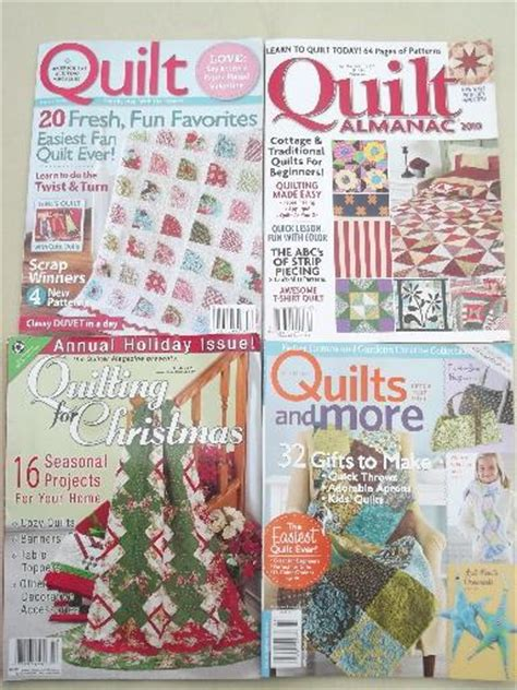 Quilt Magazine by Lot Quilt Pattern Quilting Magazines 30 Back Issues