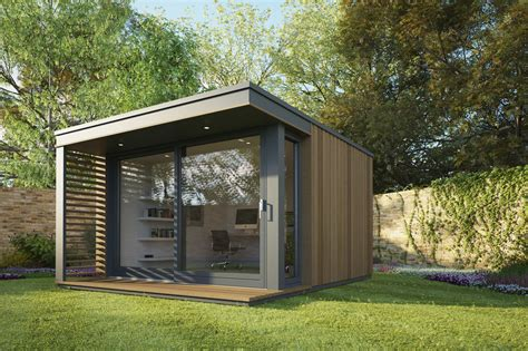 backyard office studio pod space modular garden offices and studios homeli