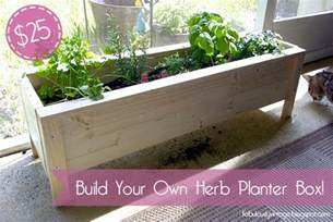 Herb Planter Box by Fabulously Vintage Pinterest Challenge Diy Herb