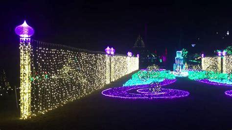 free christmas lights in arkansas garvan woodland gardens in springs arkansas