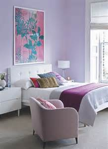 lilac bedroom homey