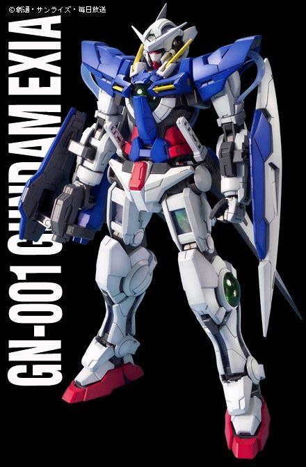 Gn 001 Gundam Exia Mg mg gn 001 gundam exia manual color guide mech9