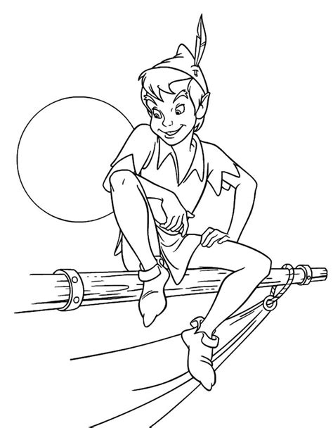 coloring pages printable pages free printable peter pan coloring pages for kids