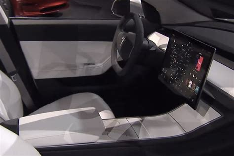 tesla inside 2017 2017 tesla model 3 interior tesla model 3