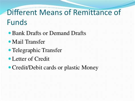 Telegraphic Transfer Vs Letter Of Credit Different Means Of Remittance