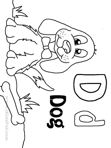 Free Coloring Pages Of Letter D Worksheet D Coloring Pages