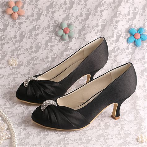 wedding shoes small heel medium heel wedding shoes small size black satin dress shoes www top of clinics ru