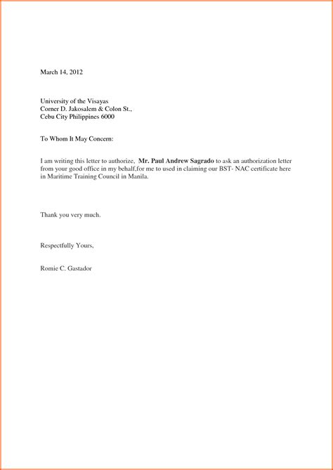 official authorization letter format read book letter of authorisation circleslife pdf read