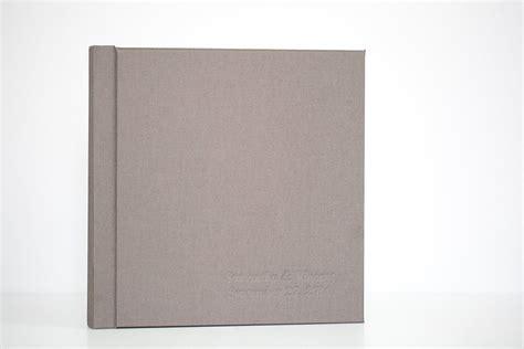 Wedding Photo Book Linen Cover by Wedding Albums The Linen Album