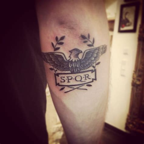 spqr tattoo meaning 25 best ideas about spqr on c