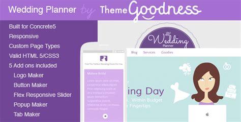 Wedding Planner Theme by Wedding Planner Theme For Concrete5 By Stephaniehider