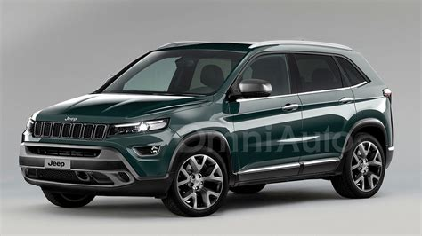 2017 Jeep Compact Suv Rendered Prior To March Reveal