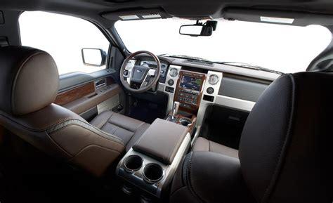 F150 Platinum Interior by Ford F 150 Platinum Interior Car Interior Design