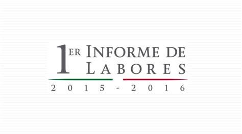informe de pagamentos qualicorp 2015 primer informe de labores 2015 2016 secretar 237 a de