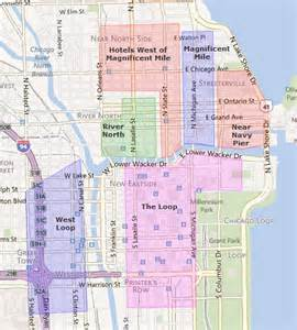 Map Of Downtown Chicago Hotels by Downtown Chicago Quotes Quotesgram