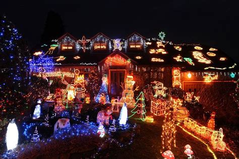 the uk s best christmas decorations never mind the bills