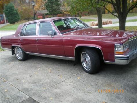 1988 Cadillac Fleetwood Brougham by Find Used 1988 Cadillac Fleetwood Brougham In Cortland