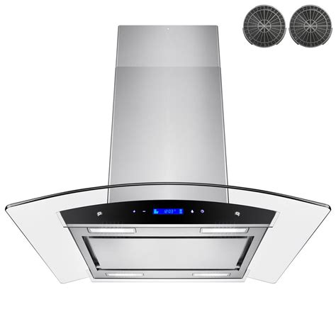 kitchen island range hoods akdy 30 in convertible kitchen island mount range in