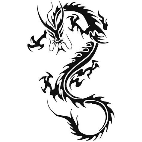 chinese tribal dragon tattoo designs tribal www pixshark images