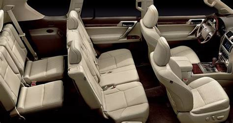 Lexus Gx Captains Chairs by 2016 Lexus Gx Suv Review Price Specs Msrp