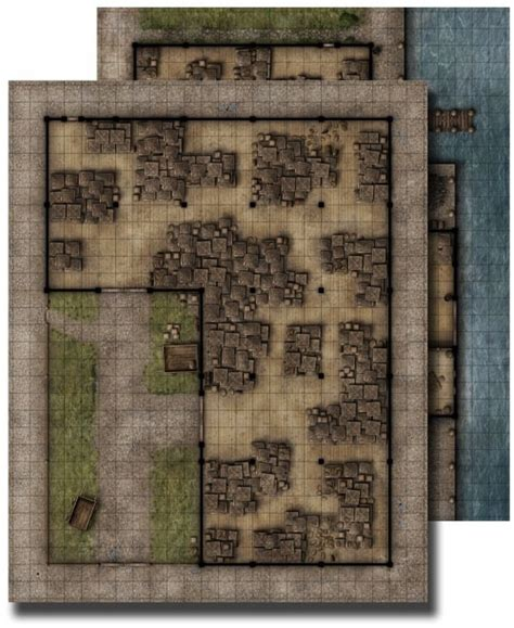 paizo gamemastery flip mat warehouse
