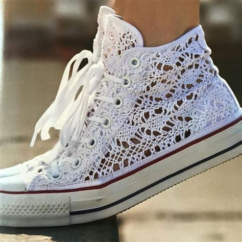Hochzeit Chucks by Chuck All Crochet 4u Hilariafina Http Www