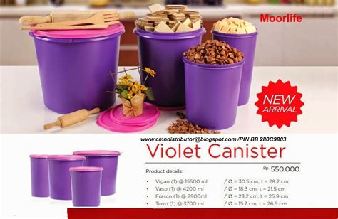 Tuperware Violet moorlife olshop