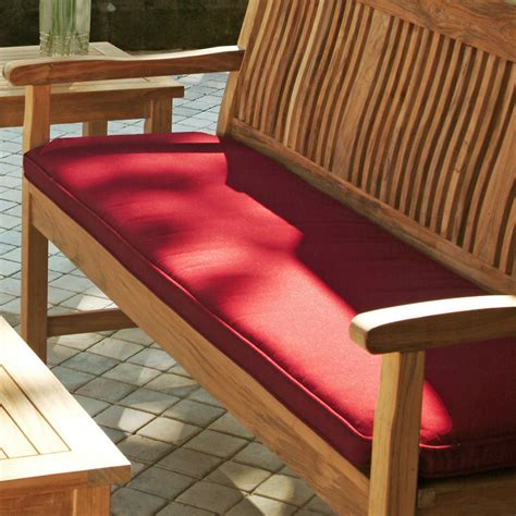 how to make outdoor bench cushions 6 ft sunbrella outdoor garden bench cushion replacement