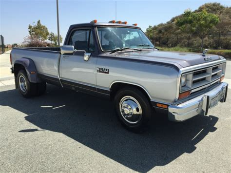 1990 dodge ram cummins for sale clean and low mile 1990 dodge ram 350 12v cummins diesel 5