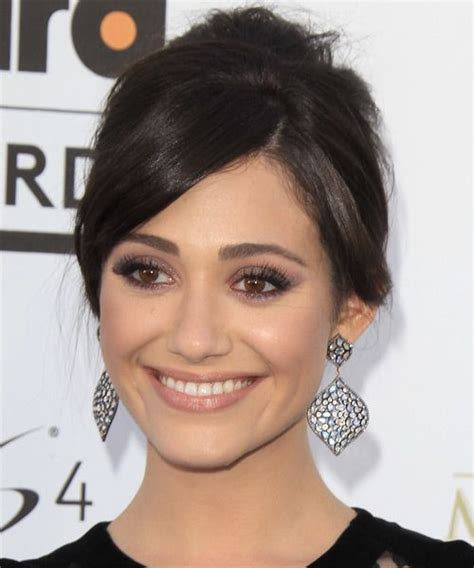 emmy rossum hair tutorial emmy rossum updo long straight formal updo hairstyle