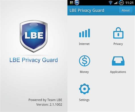 android privacy guard sicherheit f 252 r den androiden lbe privacy guard