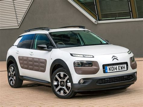 New Citroen C4 Cactus Launched in Britain: Priced Below