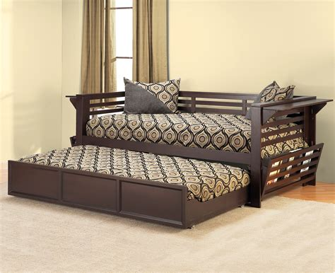 futon with trundle daybed with trundle